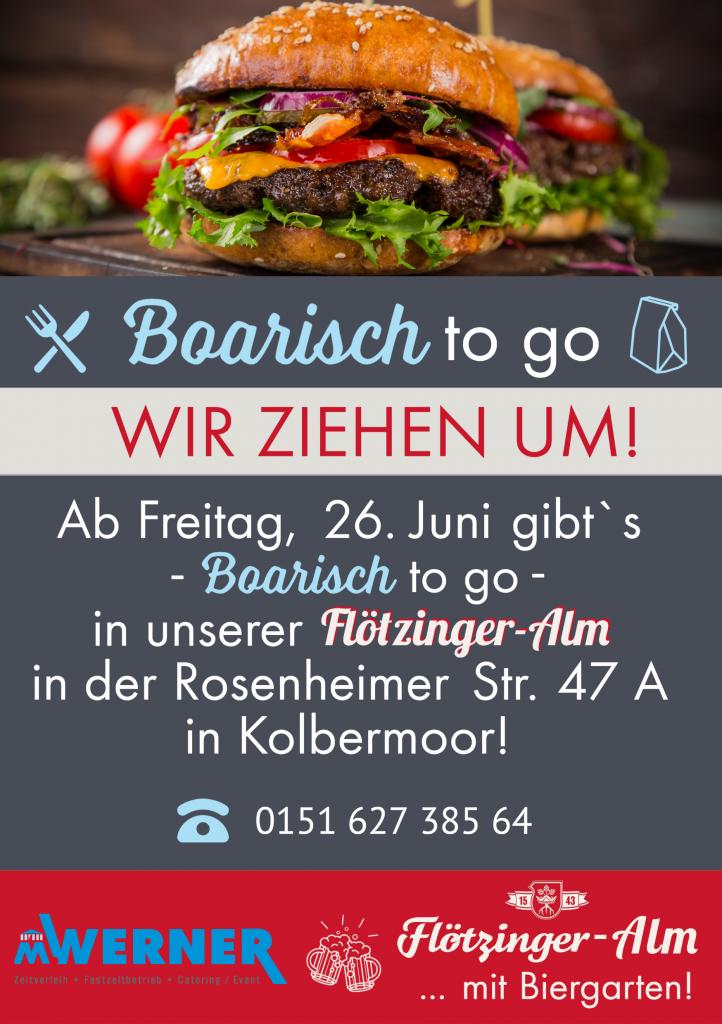 Boarisch To Go